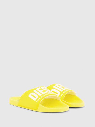 Diesel - FF 01 SLIPPER CH, Yellow - Footwear - Image 3
