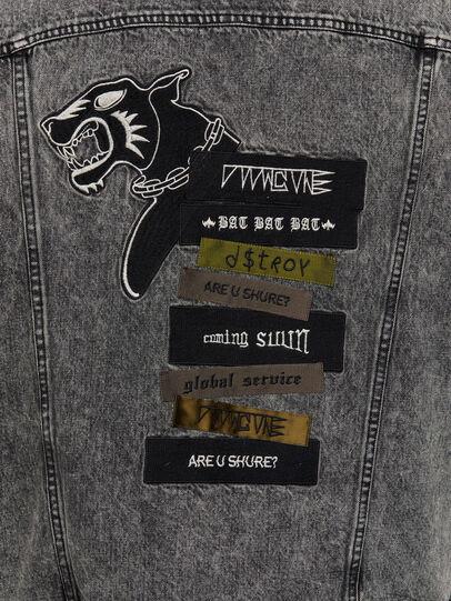 Diesel - D-DESTROY-SP, Grey/Black - Winter Jackets - Image 4