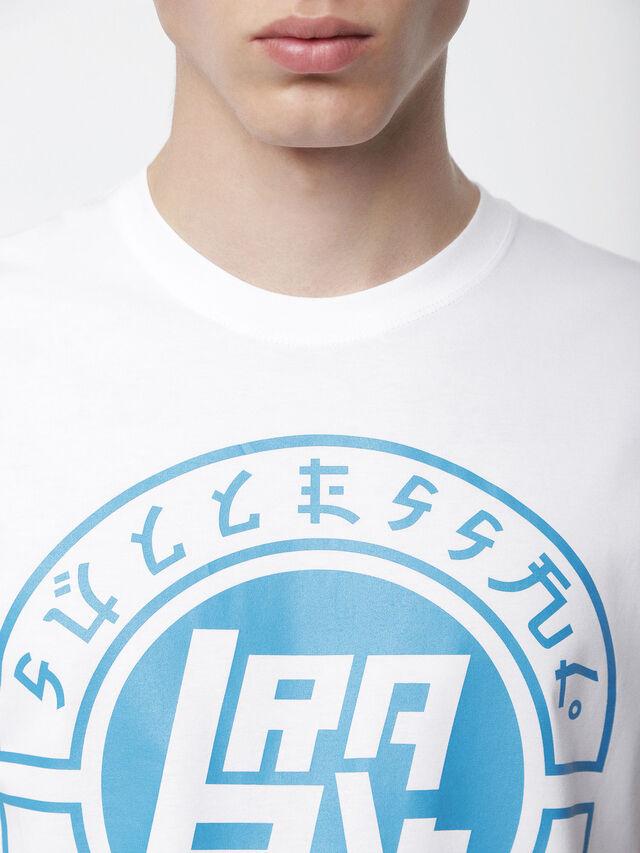 Diesel - T-DIEGO-XC, White - T-Shirts - Image 3