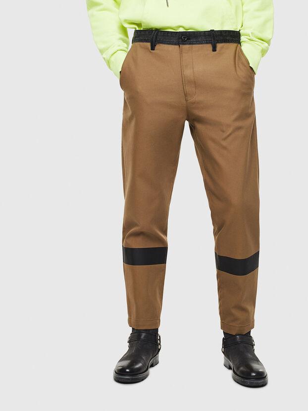 P-KAPP, Brown/Black - Pants