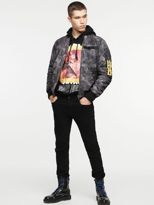 Diesel - W-NOVELS, Black Melange - Jackets - Image 6