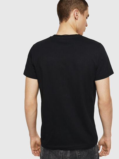 Diesel - T-DIEGO-A8, Black - T-Shirts - Image 2