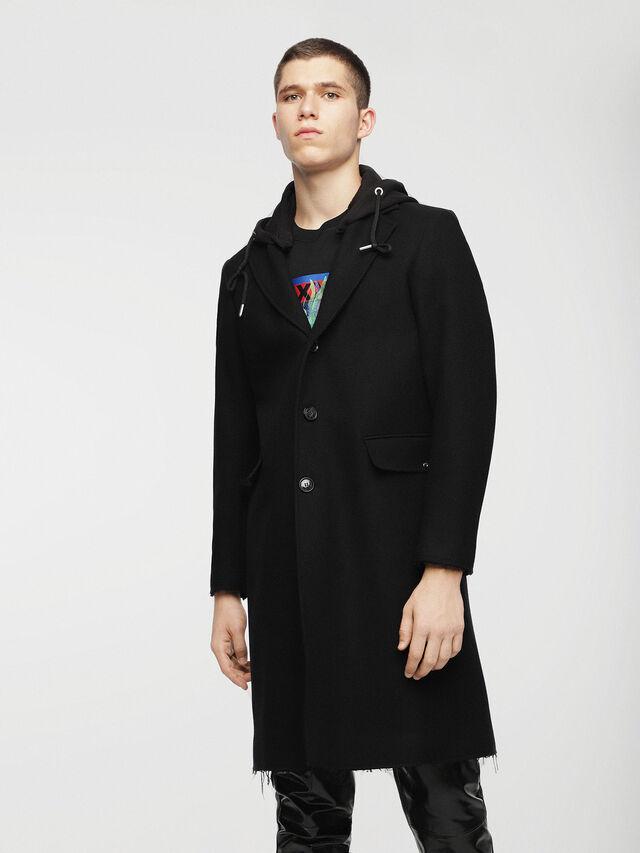 Diesel - W-DEXTER, Black - Winter Jackets - Image 1