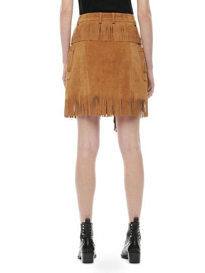 Diesel - OSCAP,  - Leather skirts - Image 2