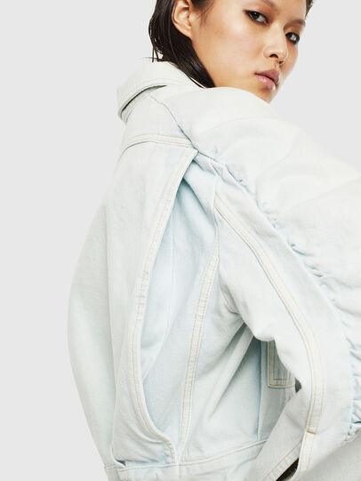 Diesel - DE-MERYL-R, Light Blue - Denim Jackets - Image 3