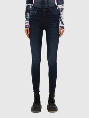 Slandy High 009JG, Dark Blue - Jeans