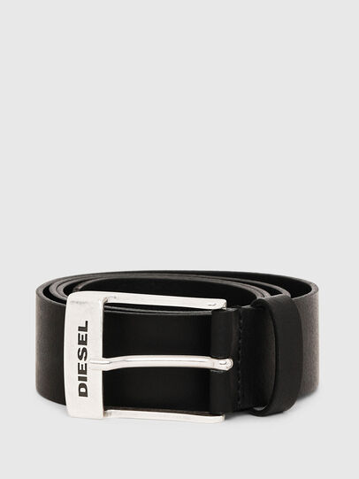 Diesel - B-TOMBOLO, Black - Belts - Image 1