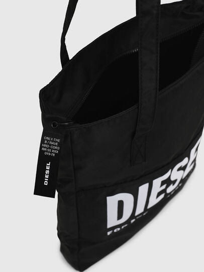 Diesel - BBAG-TOTE, Black - Beachwear accessories - Image 6