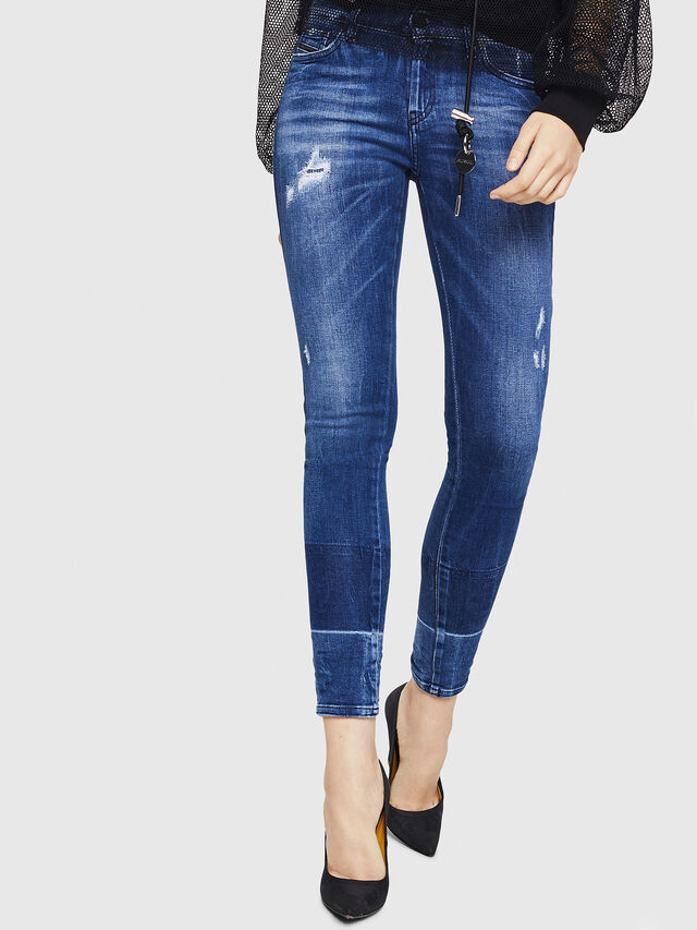 Diesel - Slandy 0090K, Medium blue - Jeans - Image 1
