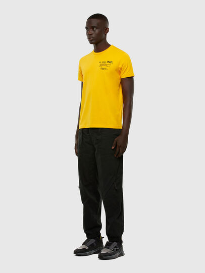 Diesel - T-DIEGOS-N21, Yellow - T-Shirts - Image 4