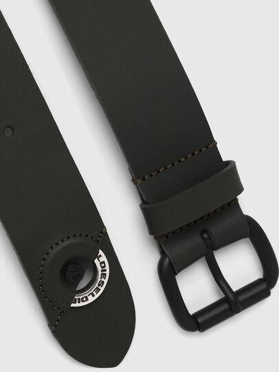 Diesel - B-IRI, Olive Green - Belts - Image 3