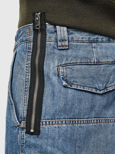 Diesel - D-LUKS-SHORT, Light Blue - Shorts - Image 5