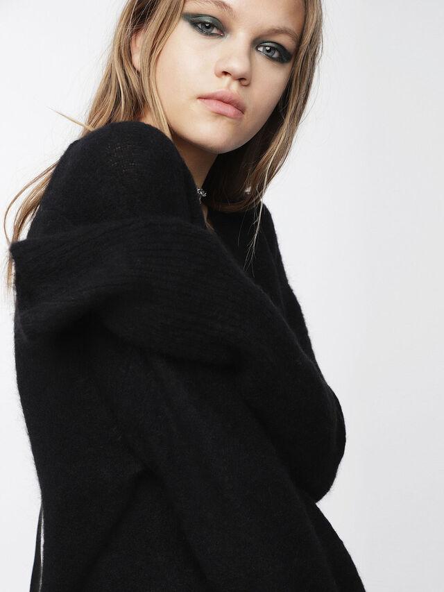 Diesel - M-ALPY, Black - Knitwear - Image 3
