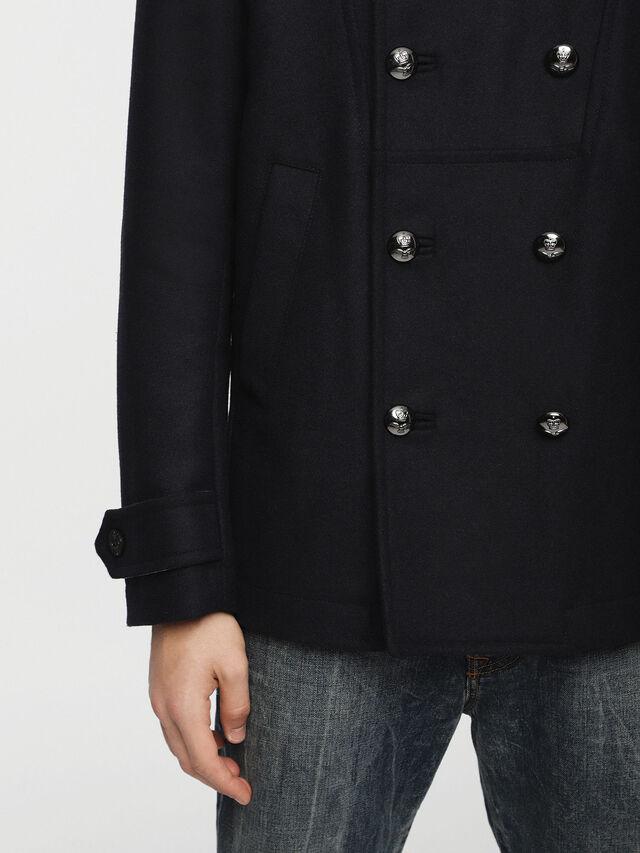 Diesel - W-BANFI, Dark Blue - Winter Jackets - Image 3