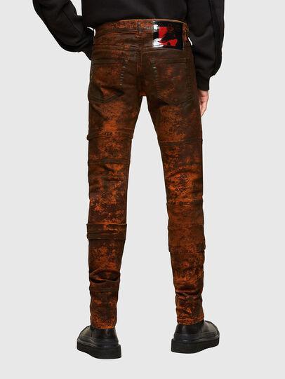 Diesel - TYPE-2021, Black/Orange - Jeans - Image 2