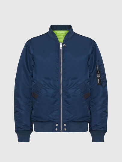 Diesel - J-ROSS-REV, Blue - Jackets - Image 1