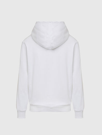 Diesel - S-GIRK-HOOD-CUTY, White - Sweaters - Image 2