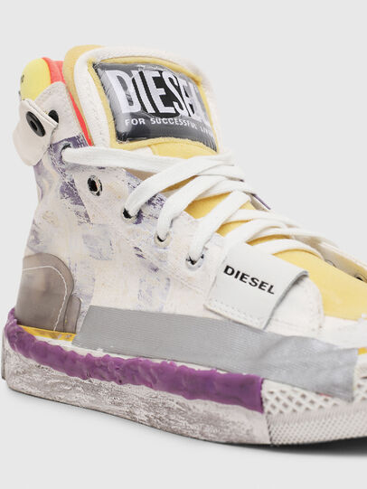 Diesel - S-ASTICO PNT W, White/Pink - Sneakers - Image 4