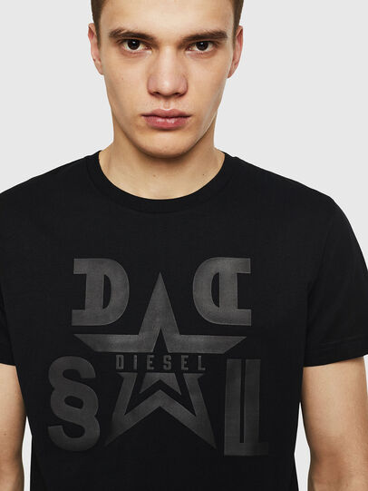 Diesel - T-DIEGO-A8, Black - T-Shirts - Image 3