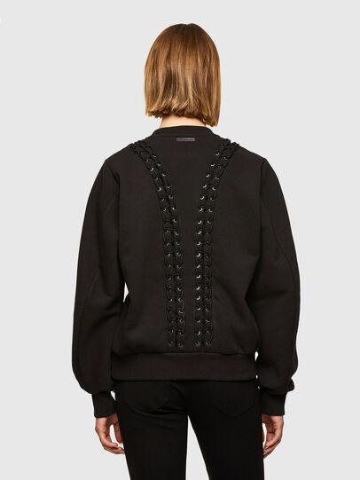 Diesel - F-ANAIT, Black - Sweaters - Image 2