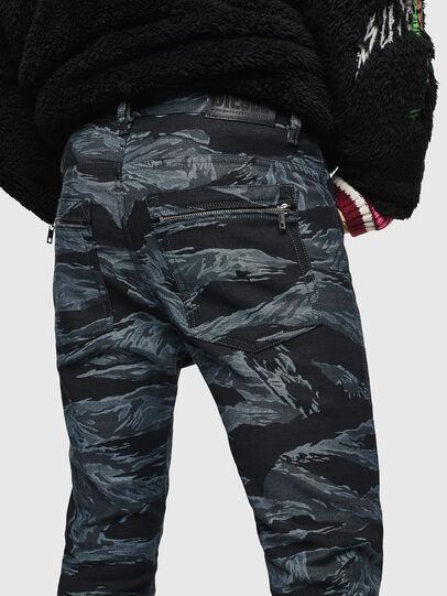 Diesel - D-Amny 0091R, Dark Blue - Jeans - Image 5