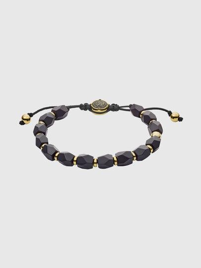 Diesel - DX1216, Black/Gold - Bracelets - Image 1