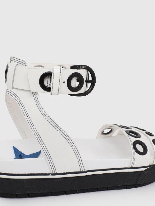 Diesel - SA-GRAND LCE, White/Black - Sandals - Image 4