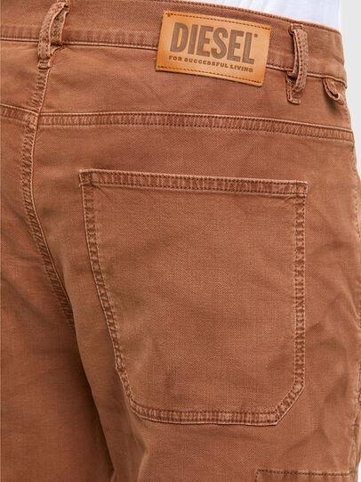 Diesel - D-Krett JoggJeans 069RJ, Light Brown - Jeans - Image 4