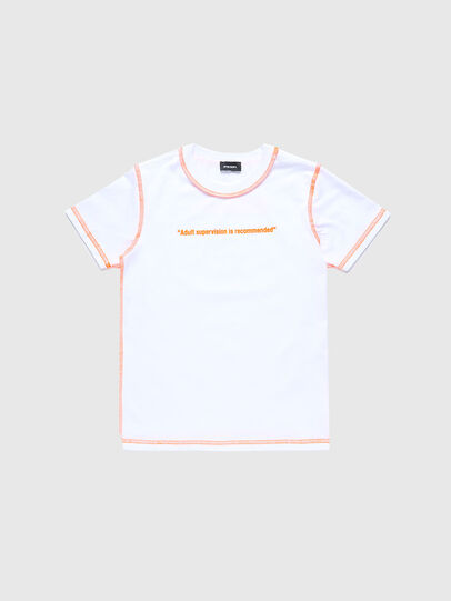 Diesel - TJUSEAM, White - T-shirts and Tops - Image 1