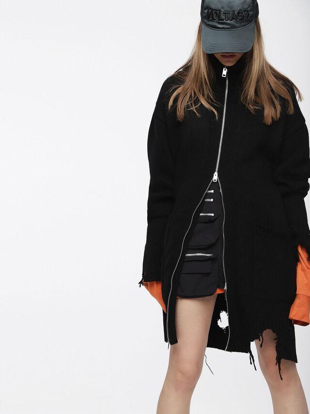 Diesel - M-ZAK-FL, Black - Winter Jackets - Image 1