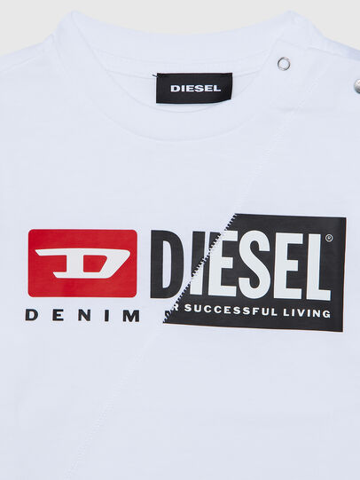 Diesel - TDIEGOCUTYB ML, White - T-shirts and Tops - Image 3
