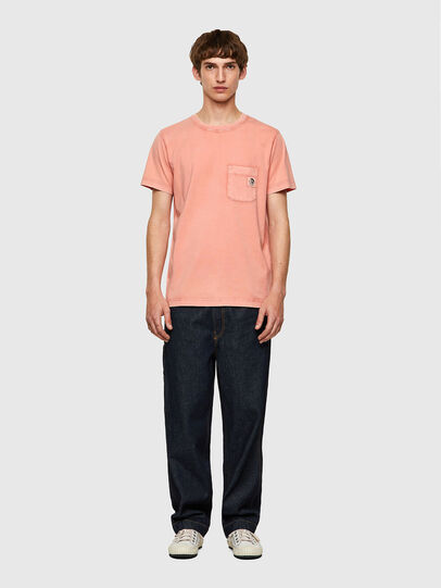 Diesel - T-WORKY-MOHI-B1, Pink - T-Shirts - Image 4