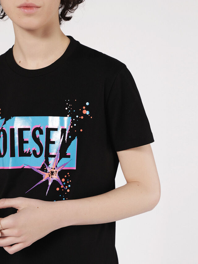 Diesel - T-EXPLO, Black - T-Shirts - Image 3