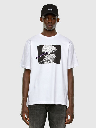 Diesel - T-TUBOLAR-X20, White - T-Shirts - Image 5