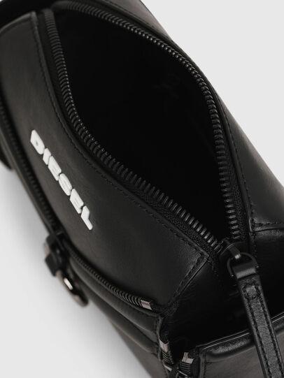 Diesel - LE-ZIPPER CROSSBODY, Black - Crossbody Bags - Image 5