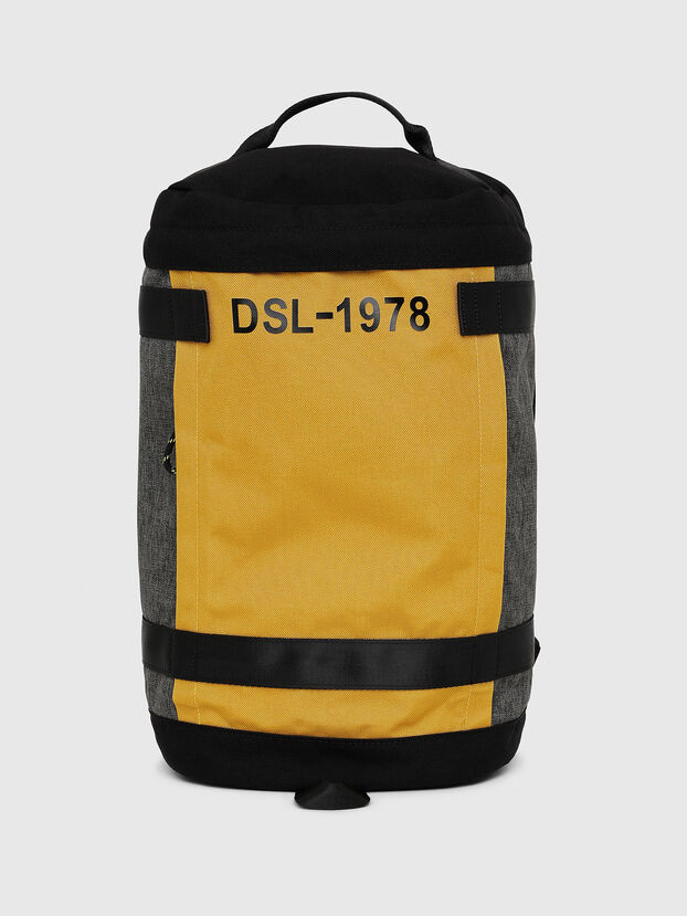 PIEVE, Black/Yellow - Backpacks