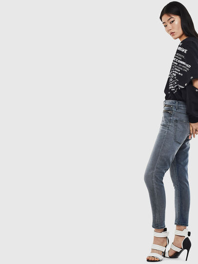 Diesel - D-Eifault JoggJeans 069LT, Dark Blue - Jeans - Image 4