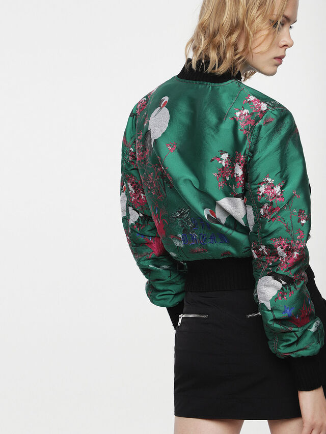 Diesel - G-BRUCE-A, Green - Jackets - Image 2