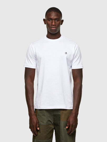 Diesel - T-JUSTY, White - T-Shirts - Image 1