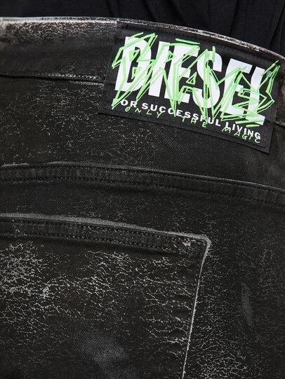 Diesel - Fayza 009DL, Black/Dark grey - Jeans - Image 4