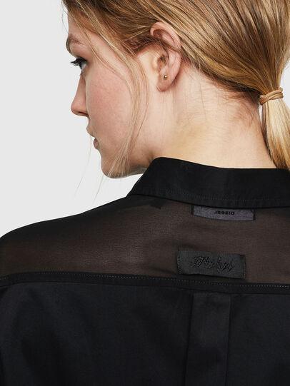 Diesel - D-FLOWY, Black - Dresses - Image 4