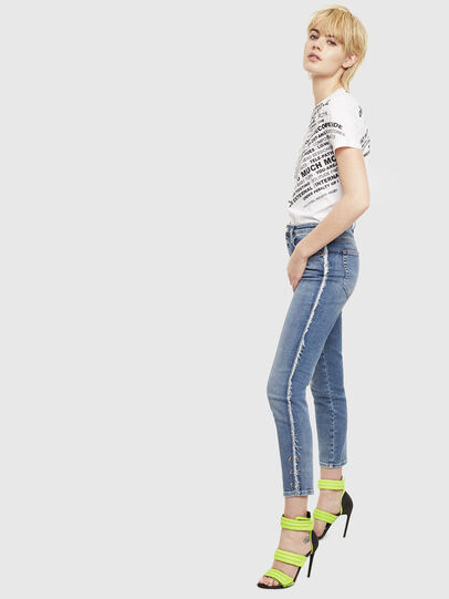 Diesel - T-SILY-S1, White - T-Shirts - Image 4