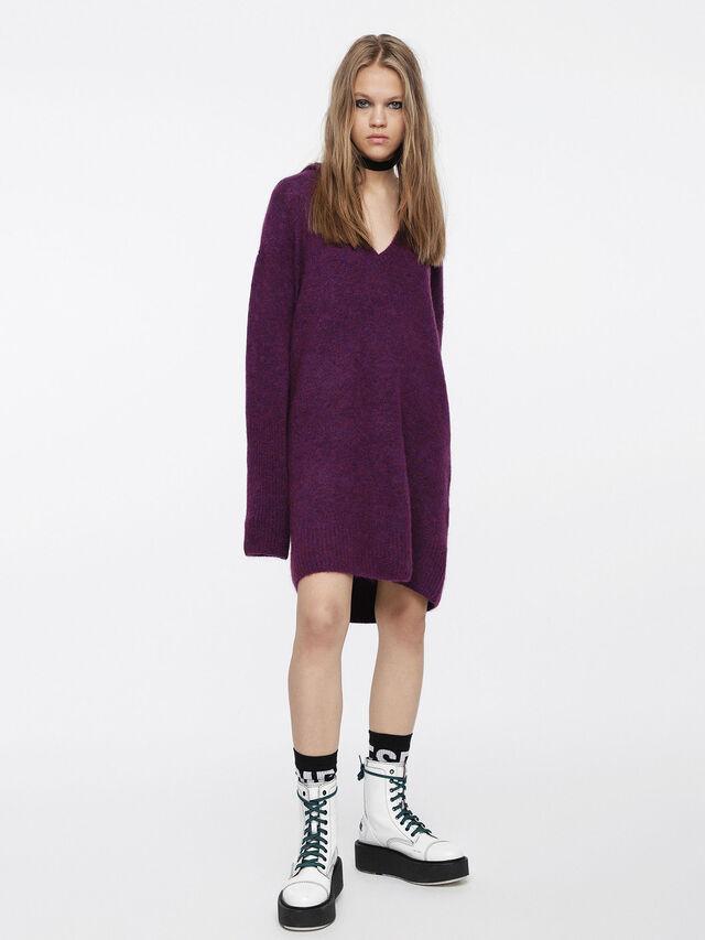 Diesel - M-SOFTY, Violet - Dresses - Image 1