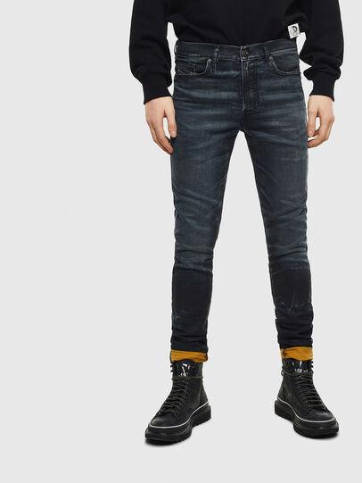 Diesel - D-Reeft JoggJeans 069MD, Dark Blue - Jeans - Image 1