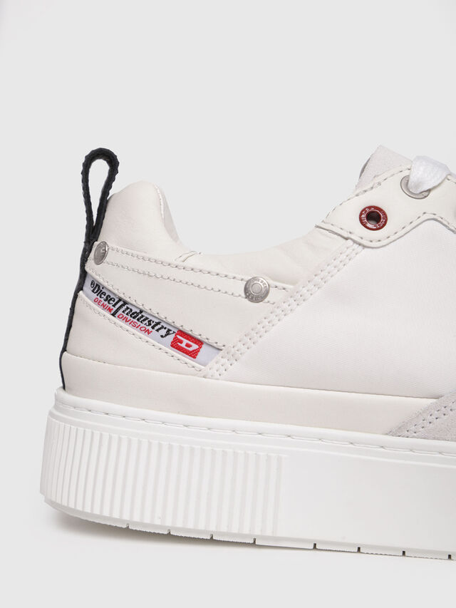 Diesel - S-DANNY LC, Cream - Sneakers - Image 4