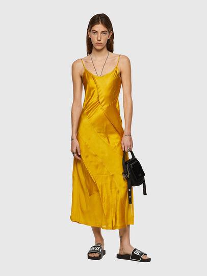 Diesel - D-GAIA, Yellow - Dresses - Image 4