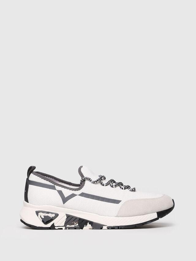 Diesel - S-KBY, White/Grey - Sneakers - Image 1