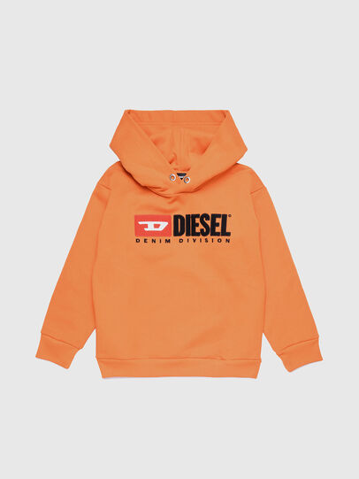 Diesel - SDIVISION OVER, Orange - Sweaters - Image 1