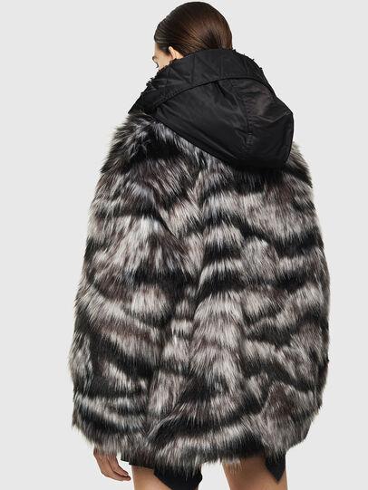 Diesel - L-ALYA, Black - Leather jackets - Image 2