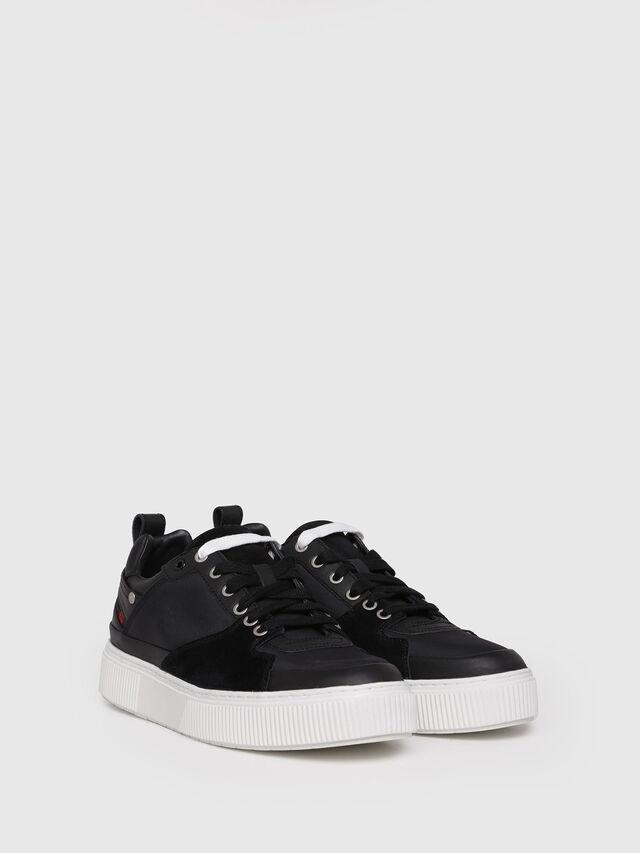 Diesel - S-DANNY LC, Black - Sneakers - Image 3